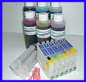 HP, Canon, Epson, inks and refill cartridges